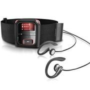 飞利浦 SA3RGA04RS/93 飞声音效 4G MP3数码播放器 红色