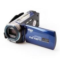爱国者 AHD-S7 数码摄像机 蓝色(510万像素 10倍光学变焦 1080P高清摄像 3.0英寸液晶屏 双卡存储)产品图片主图
