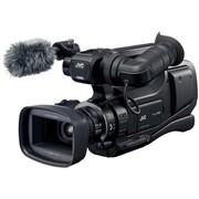 JVC JY-HM85ACM专业高清闪存摄像机(婚庆专用1200万像素1/2.3背照式COMS F1.2光圈 双卡槽双电池插口)