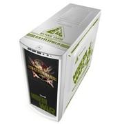 游戏悍将 MOD魔鬼雪装/USB3.0 中塔机箱 标配3个风扇 电源下置/背部走线