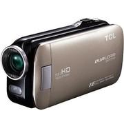 TCL D857FHD 全高清数码摄像机 香槟金(500万像素 3英寸触摸屏 80倍智能变焦)