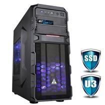 金河田 游戏联盟 狂战士6806B 机箱 (USB3.0/超多风扇位/可背线/电源下置/可双显卡)产品图片主图
