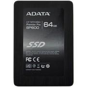 威刚 SP600 64G 2.5英寸 SATA-3固态硬盘 (ASP600S7-64GM)