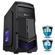 金河田 游戏联盟 升华(零辐射版) 机箱(USB3.0/10秒开机SSD/背线/免工具/超强散热/全防尘)