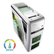 游戏悍将 特工3雪装  中塔机箱 (USB3.0/0.7MM板材/滑轨式显卡散热架)
