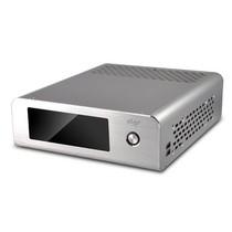 爱国者 i2 MINI系列机箱电源套装 银色(仅支持ITX主板/标配60W外置电源适配器)产品图片主图