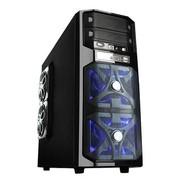 爱国者 雷霆战将HU-1366升级版 中塔游戏机箱 黑色(USB3.0/电源下置/背部走线/标配三个静音风扇)