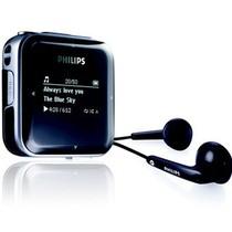 飞利浦 SA028304K/93 飞声音效 4G MP3数码播放器 黑色产品图片主图