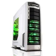 游戏悍将 超级刀锋雪装 中塔机箱 (USB3.0/0.9MM板材/双风扇调速器/顶置易插拔)