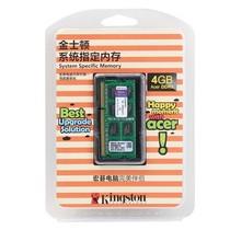 金士顿 系统指定 DDR3 1333 4GB 宏基(ACER)笔记本内存(KAC-MEMJS/4GFR)产品图片主图