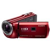 索尼 HDR-PJ390E 投影高清数码摄像机 红色(239万像素 3英寸屏 30倍光学变焦 32G内存)