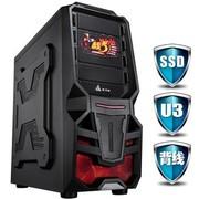金河田 游戏联盟 源代码 机箱 (USB3.0/10秒开机SSD/背线/免工具/超强散热/全防尘)