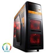 游戏悍将 特工3黑装 中塔机箱 (USB3.0/0.7MM板材/滑轨式显卡散热架)