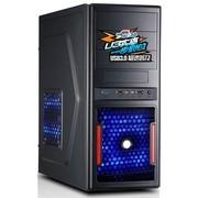 鑫谷 战枭3号 火力加强版电脑机箱 原生USB3.0/支持SSD/全黑化/支持超长显卡/经典网孔面板设计