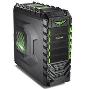 游戏悍将 魔族II绿魔 机箱 USB3.0 全方位立体化散热