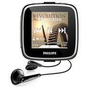 飞利浦 GoGear SA3SPK04K/93 1.5寸超大触摸屏MP3 播放器 黑色
