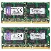 金士顿 骇客神条 PNP系列 DDR3 2133 8GB(4Gx2条)笔记本内存(KHX21S12P1K2/8)
