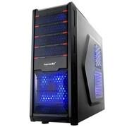鑫谷 走线王C2R 3.0版 中塔机箱(原生USB3.0/9.9cm神奇背板走线/倒置RTX38度/电源下置)红色