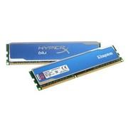 金士顿 骇客神条 Blu系列 DDR3 1600 16GB(8Gx2条)台式机内存(KHX16C10B1K2/16X)