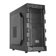 酷冷至尊 刺客U3加强版 游戏机箱(ATX/USB3.0/背走线/电源下置/支持SSD/防尘)黑色