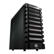 酷冷至尊 魔甲兵战斗版 游戏机箱(ATX/USB3.0/背走线/电源下置/支持SSD)黑色