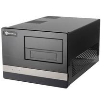 银欣 SG02B-F亚克力版 HTPC机箱(黑色)产品图片主图