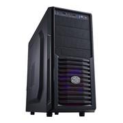酷冷至尊 剑客K282C 游戏机箱(ATX/USB3.0/背走线/电源下置/支持SSD)黑色