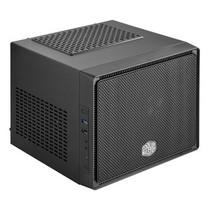 酷冷至尊 小魔方 迷你机箱(Mini-ITX/USB3.0/支持SSD)黑色产品图片主图