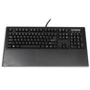 赛睿 7G 18k黄金触点游戏机械键盘 黑轴