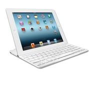 罗技 iPad平板电脑无线蓝牙超薄键盘盖 白色
