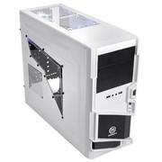 Thermaltake 星际指挥官 中塔机箱(全白烤漆/电竞设计/下置电源/USB3.0)白色版