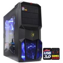 撒哈拉 走线大师GL6玩家版 游戏机箱(原生USB3.0/完美背线/侧透/标配2把LED大风扇)黑色产品图片主图