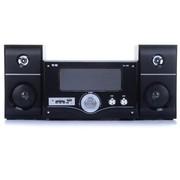 索爱 SA-302 2.1多媒体有源台式PC电脑音箱 木质音响 家用影院 (黑色)