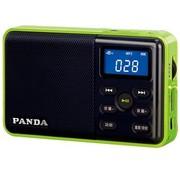 熊猫 DS-131 数码音响播放器 插卡迷你收音机小音箱(绿色)