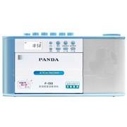 熊猫 F-133 多功能复读机收录机u盘磁带复读机MP3录音机转录机usb播放器播放机插卡学习机(蓝色)
