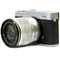富士 X-E1 旁轴单电套机 银色机身/银色镜头(XC 16-50mm f/3.5-5.6 OIS 镜头)产品图片主图