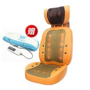 巴赛尔 全能按摩椅EG-221 全身按摩垫 泰式按摩垫 按摩椅垫靠枕 智能加热 货到付款