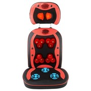 乐尔康 乐尔康LEK-918G升级版颈椎按摩器颈部腰部按摩靠垫 按摩椅垫 红色