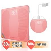 韦乐雅斯 B202 USB充电电子称 体重秤人体秤