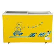 冰熊 SC/SD-272 272升冷藏冷冻转换玻璃门冷柜 卧式冰柜