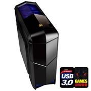撒哈拉 飞行者AX8玩家版 中塔机箱(U3/自带三把风扇/双风扇调速器/背线/SSD/磁吸式半透滑盖)