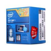 英特尔 酷睿四核i5-4670 Haswell全新架构盒装CPU(LGA1150/3.4GHz/6M三级缓存/84W/22纳米)