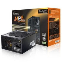 海韵 额定520W M12II-520 电源(80PLUS铜牌/全模组/支持SLI/支持背线)产品图片主图