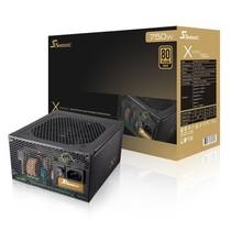 海韵 额定750W X-750 电源(80PLUS金牌/全模组/全日系电容/支持SLI/支持背线)产品图片主图