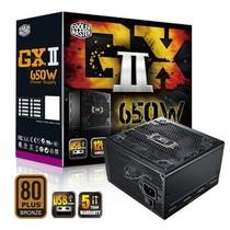 酷冷至尊 GXII650额定650W电源(80PLUS铜牌/关机充电/静音/主动式PFC/支持背线/质保5年)产品图片主图