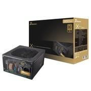 海韵 额定850W X-850 电源(80PLUS金牌/全模组/全日系电容/支持SLI/支持背线)