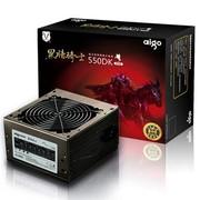 爱国者 额定400W 黑暗骑士550DK 电源(宽幅设计/节能设计/智能温控)