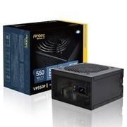 安钛克 额定550W VP 550P V2 电源(主动式PFC/12CM静音风扇/黑化外型设计)