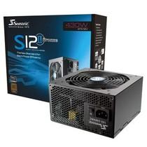 海韵 额定430W S12II-430 电源(80PLUS铜牌/智能温控静音风扇/支持SLI/支持背线)产品图片主图