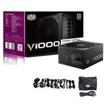 酷冷至尊 V1000额定1000W电源(80PLUS金牌/全模组/静音/主动式PFC/支持背线/质保5年)产品图片主图